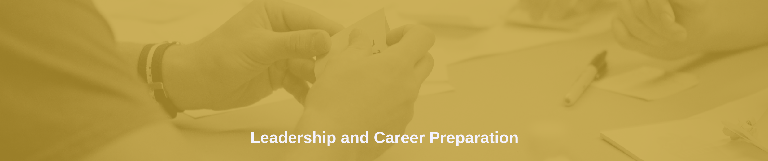 Leadership and Career Prep